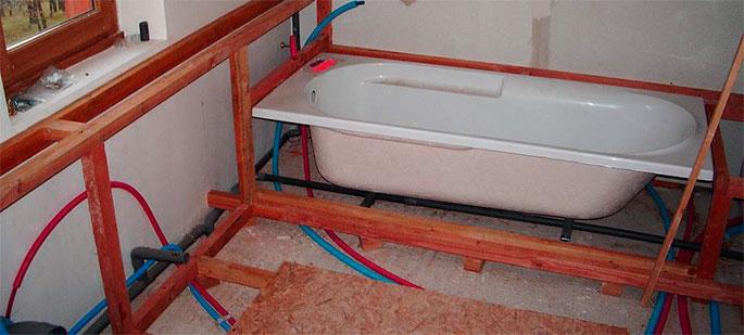 Метод скрытия труб в толще стены: с использованием каркаса