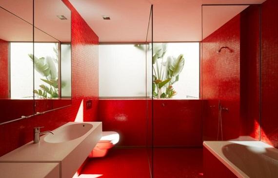 Смелые решения обеспечат неповторимый стиль ванной комнаты