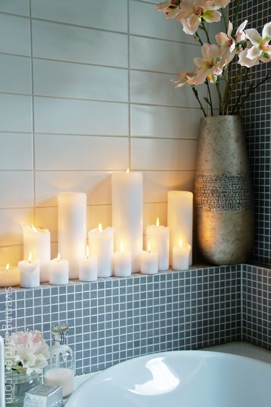 Декор для ванной фото