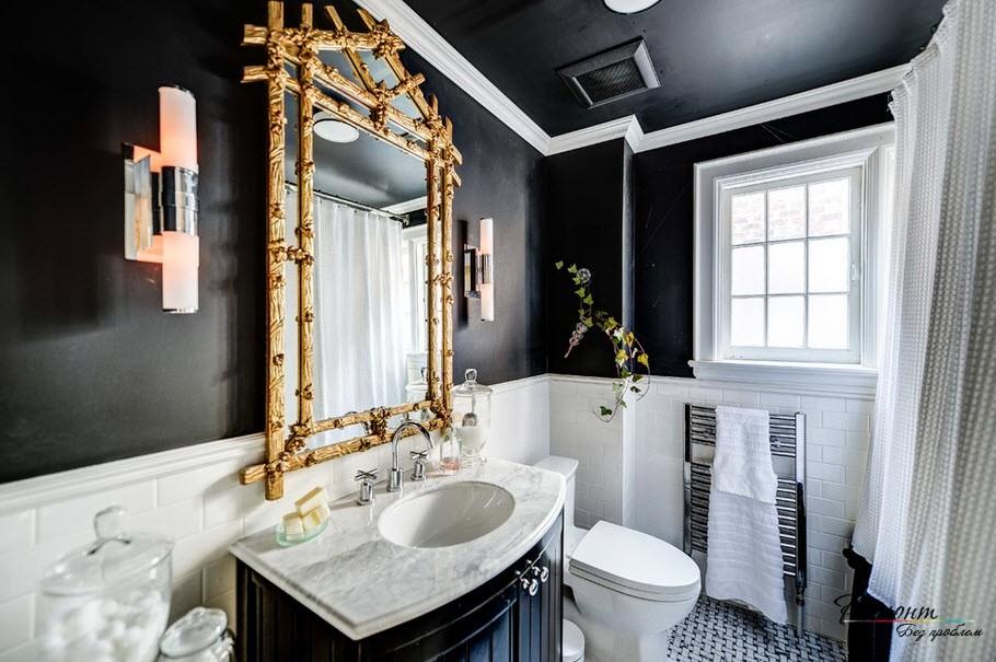 При выборе потолка важно придерживаться общего стиля комнаты