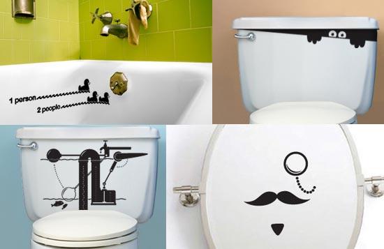 Пример декора сантехники в ванной