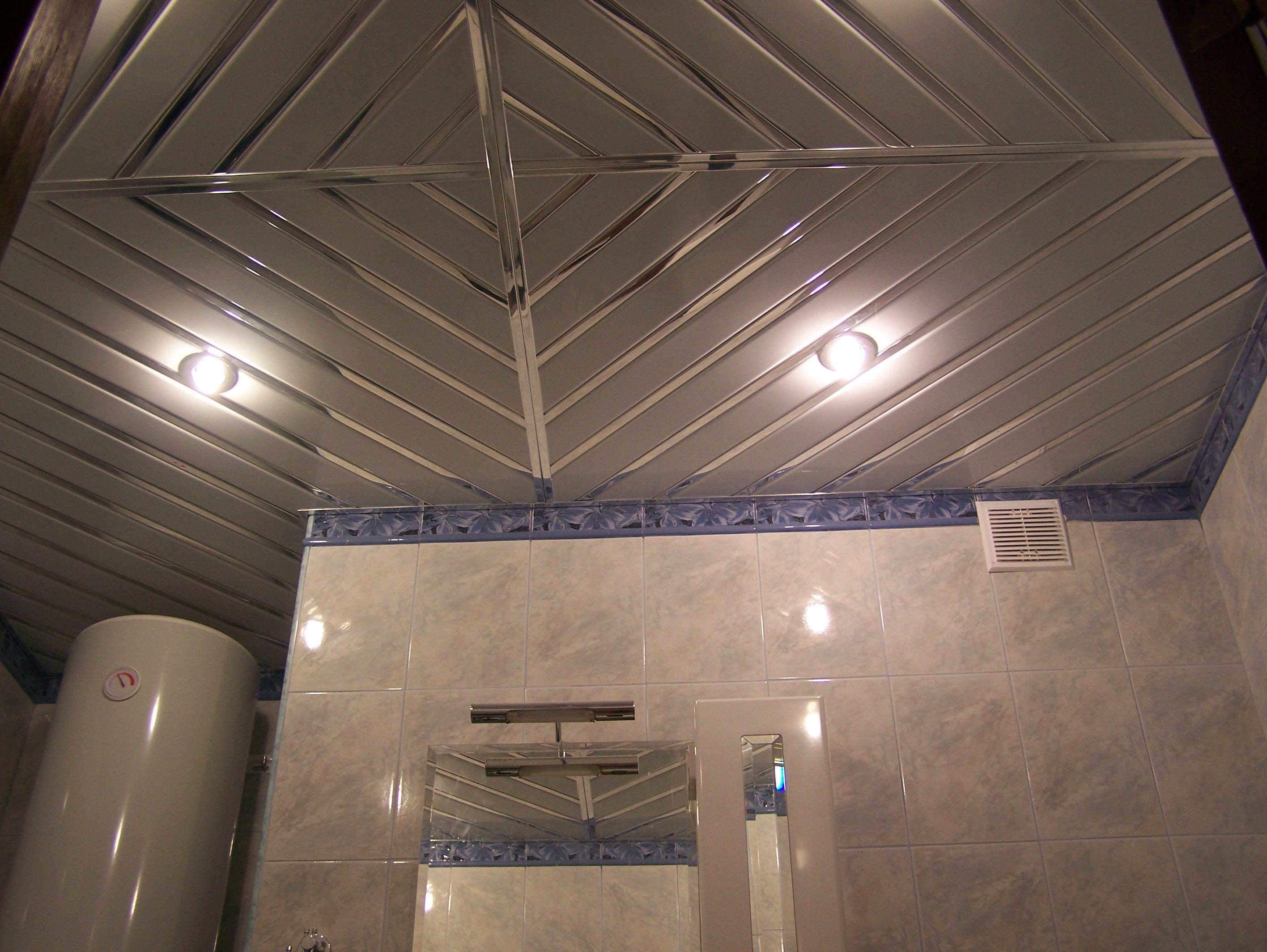 Алюминиевый потолок выглядит эффектно и может украсить общий интерьер комнаты