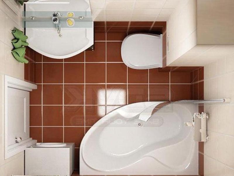 Фото дизайн маленькой ванной комнаты и туалета в хрущевке