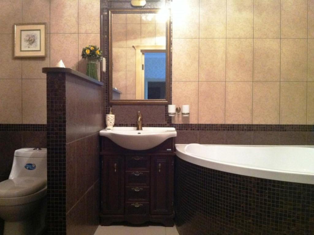 Совмещённый санузел с ванной