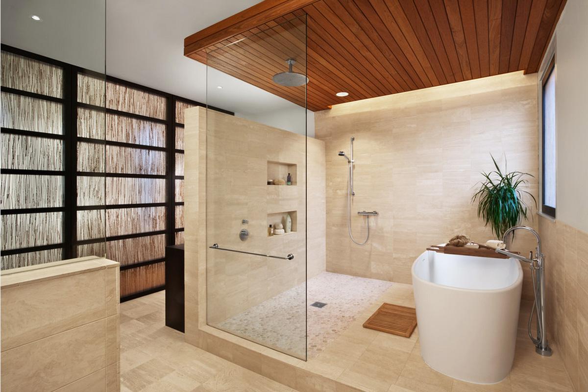 Дизайн ванной комнаты 2016 современные идеи 35