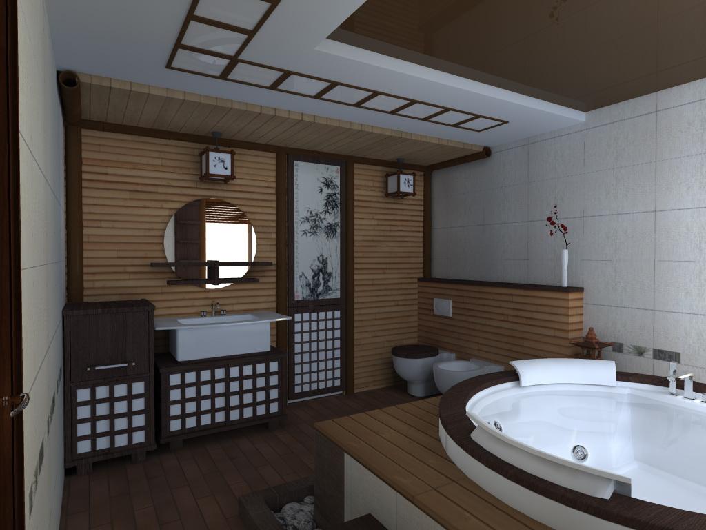 При оформлении ванной залогом успеха будет выбор в пользу мебели и сантехники правильной формы