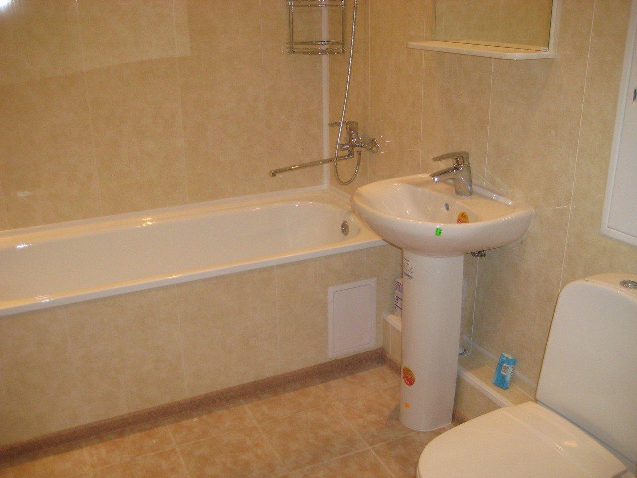 Ванны ремонт панелями