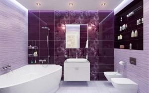 Отличная идея комбинирования нескольких оттенков фиолетового