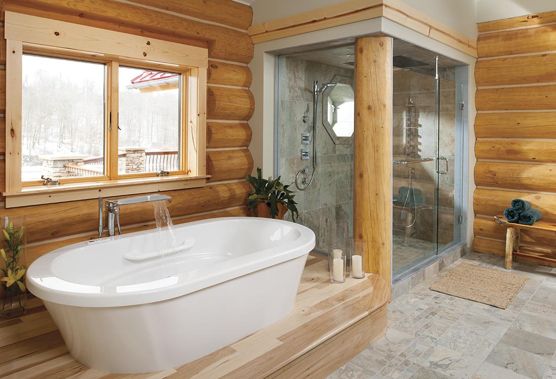 Душевая комната своими руками в деревянном доме