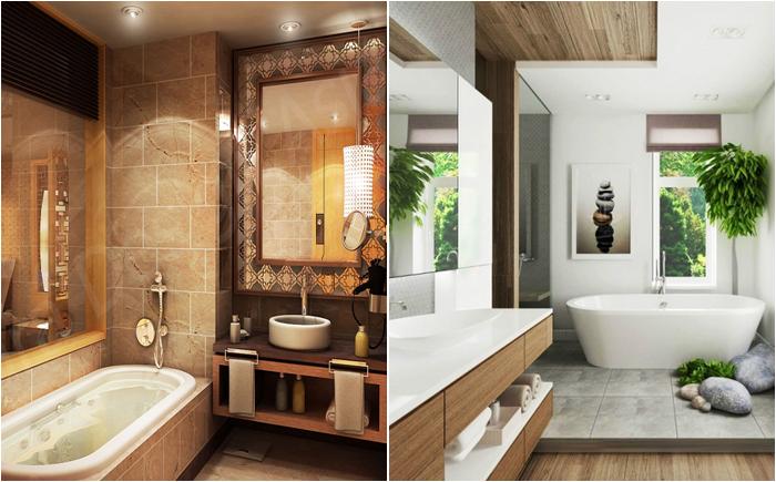 Дизайн ванной комнаты новое