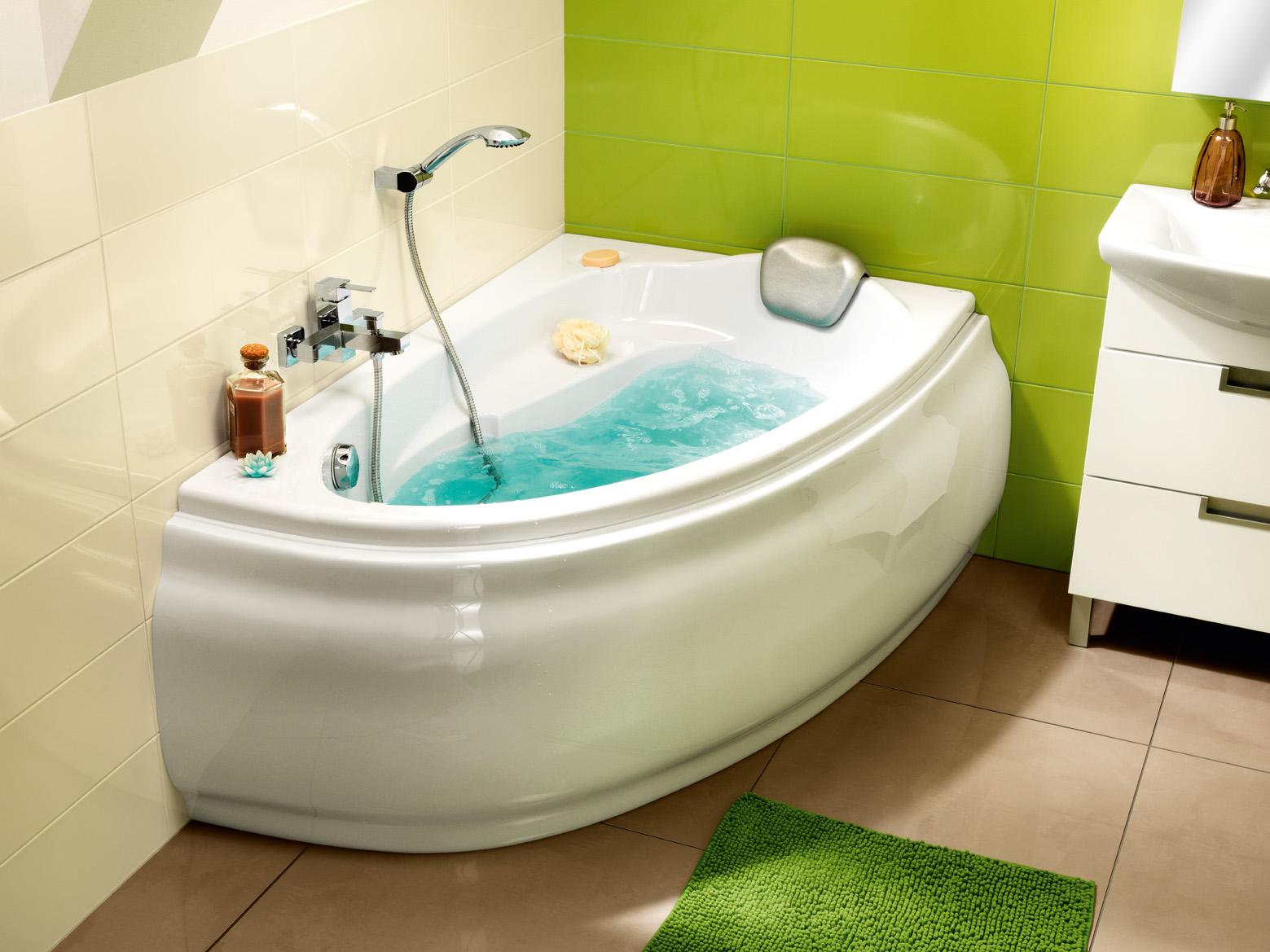 Ванна из акрила имеет ряд преимуществ - одним из которых является гигиеничность