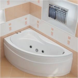 Благодаря свойствам материала ванна может быть разной формы - это поможет Вам без особых усилий выбрать наиболее подходящую по стилю