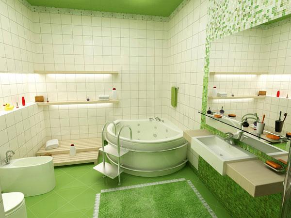 Использование зеленого в природной тематике