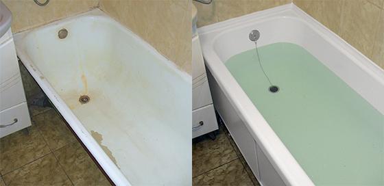 Современные виды реставрации ванн придадут изделию не только идеальный внешний вид, но и сэкономят Ваши деньги на покупке новой сантехники