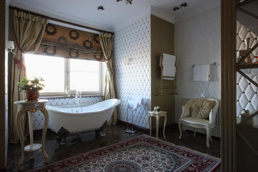 Теплые и спокойные оттенки придадут еще больше уюта в комнату
