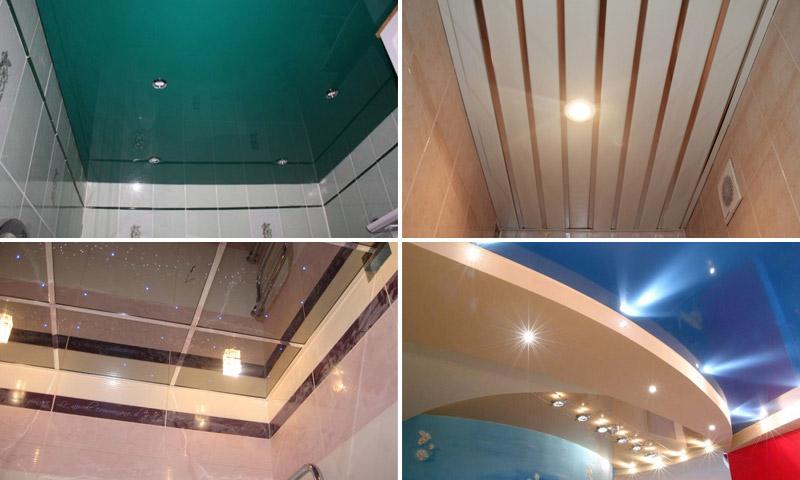 Как лучше сделать потолок