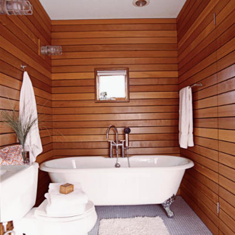 Отделка комнаты в деревянном доме своими руками