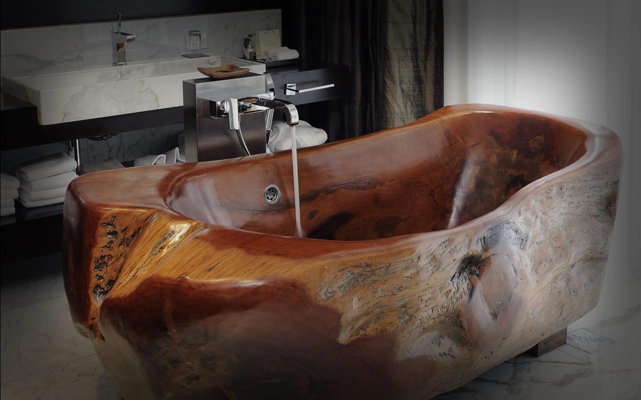 Своими руками деревянные ванны