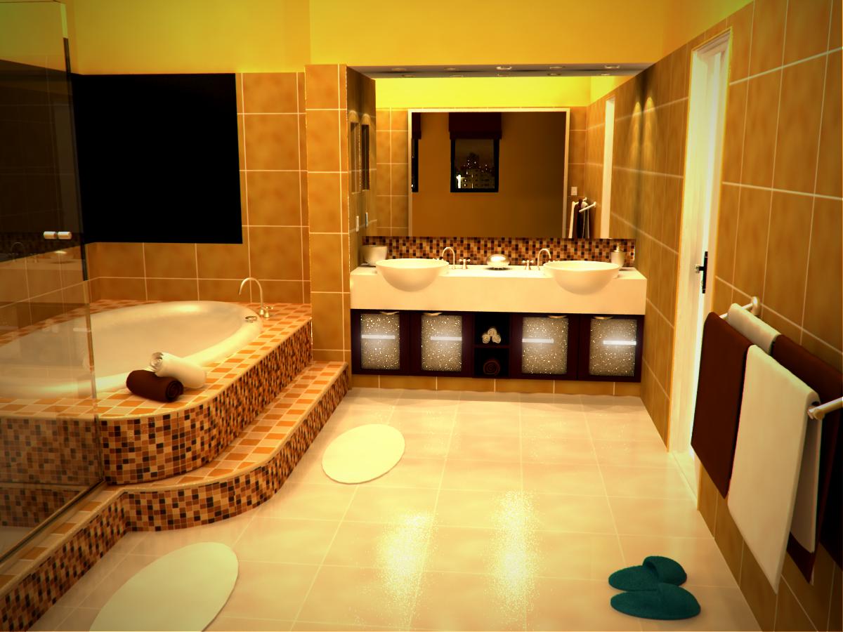 Красивые интерьеры ванной комнаты фото