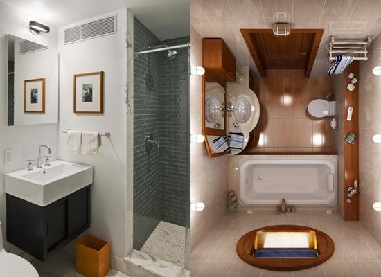В маленьких ванных комнатах важно использовать светлые материалы для отделки, так пространство будет казаться больше