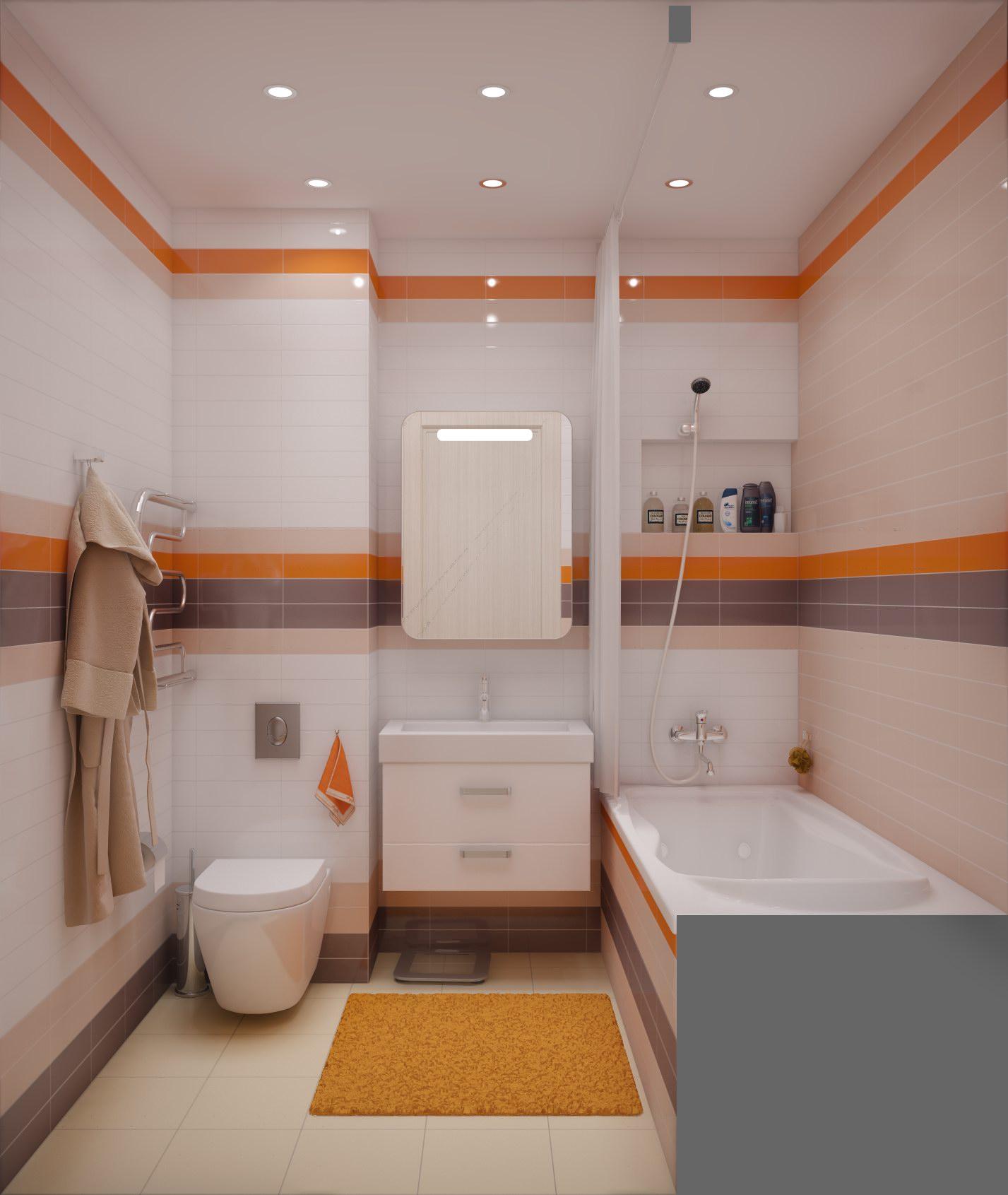 Ванная комната дизайн и туалетом