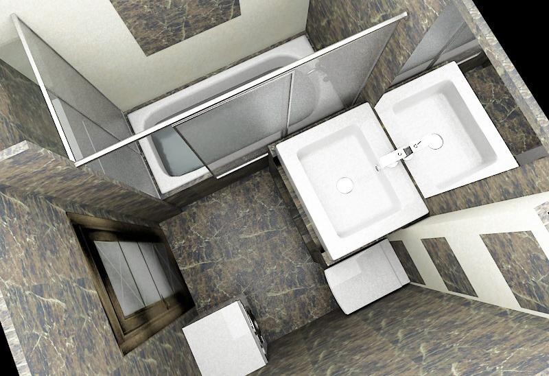 Дизайн ванной 3 5 метра
