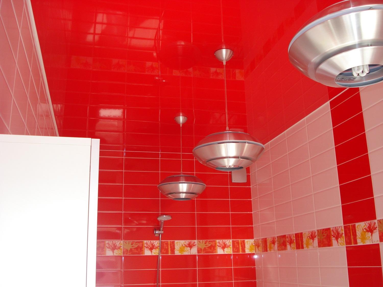 Многообразие цветовых решений натяжного потолка позволит создать оригинальный интерьер
