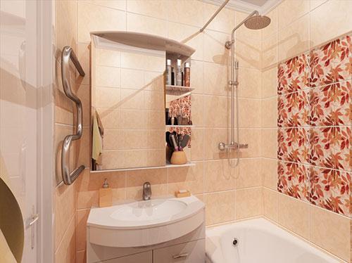 Ванные комнаты в панельных домах дизайн