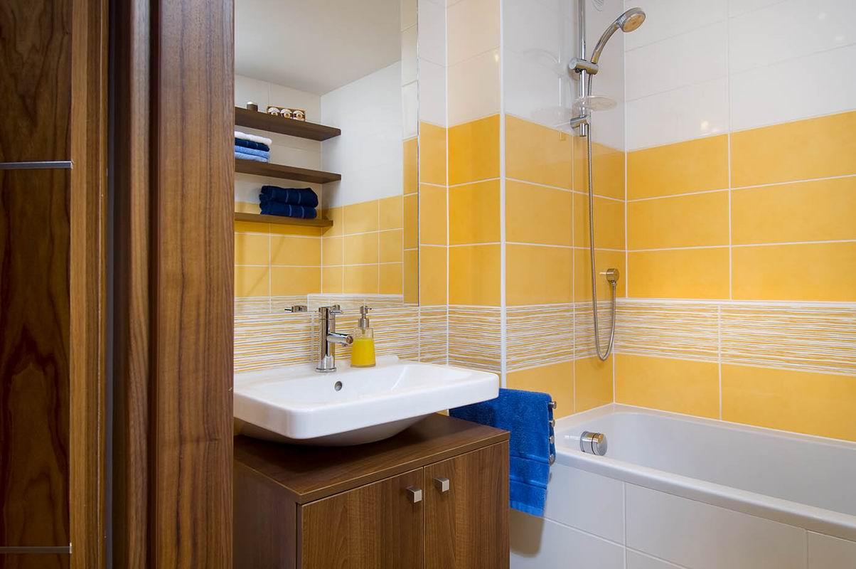 Дизайн ванных комнат в панельных домах