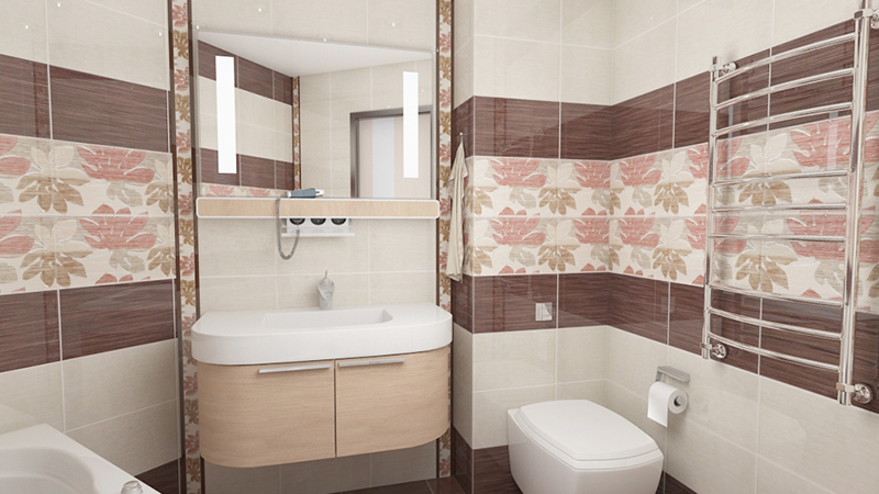 Плитка для ванной фото недорогая