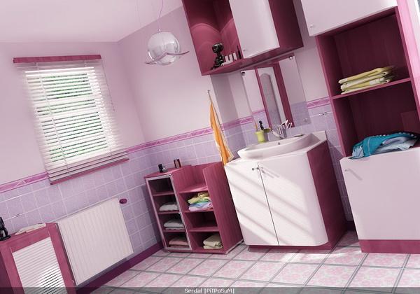 Окрасить потолок можно в одном оттенке интерьера