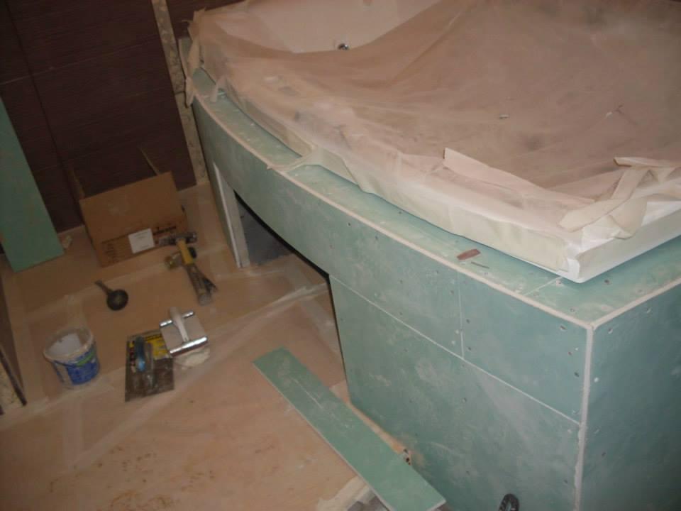 Короб для ванны как сделать