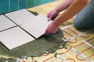Монтаж электрического теплого покрытия