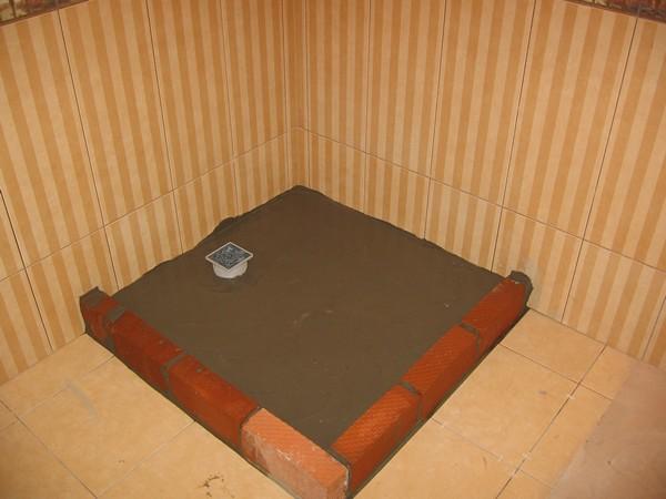 Способы оформления душевой кабины из плитки
