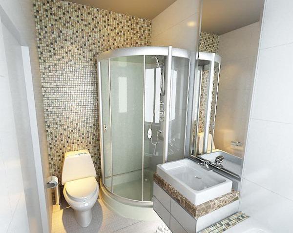 Установка душевой кабины в маленькой ванной возможна своими руками, и вместе с тем заранее можно посмотреть видео винтернете