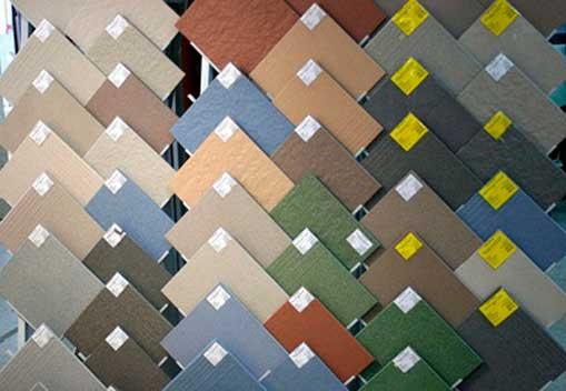 Виды плиток и цветовые варианты