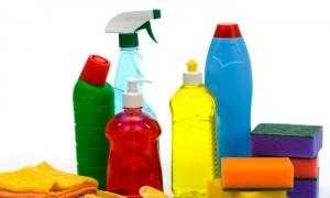 Выбор средства для очистки зависит от поверхности плитки и от самих загрязнений
