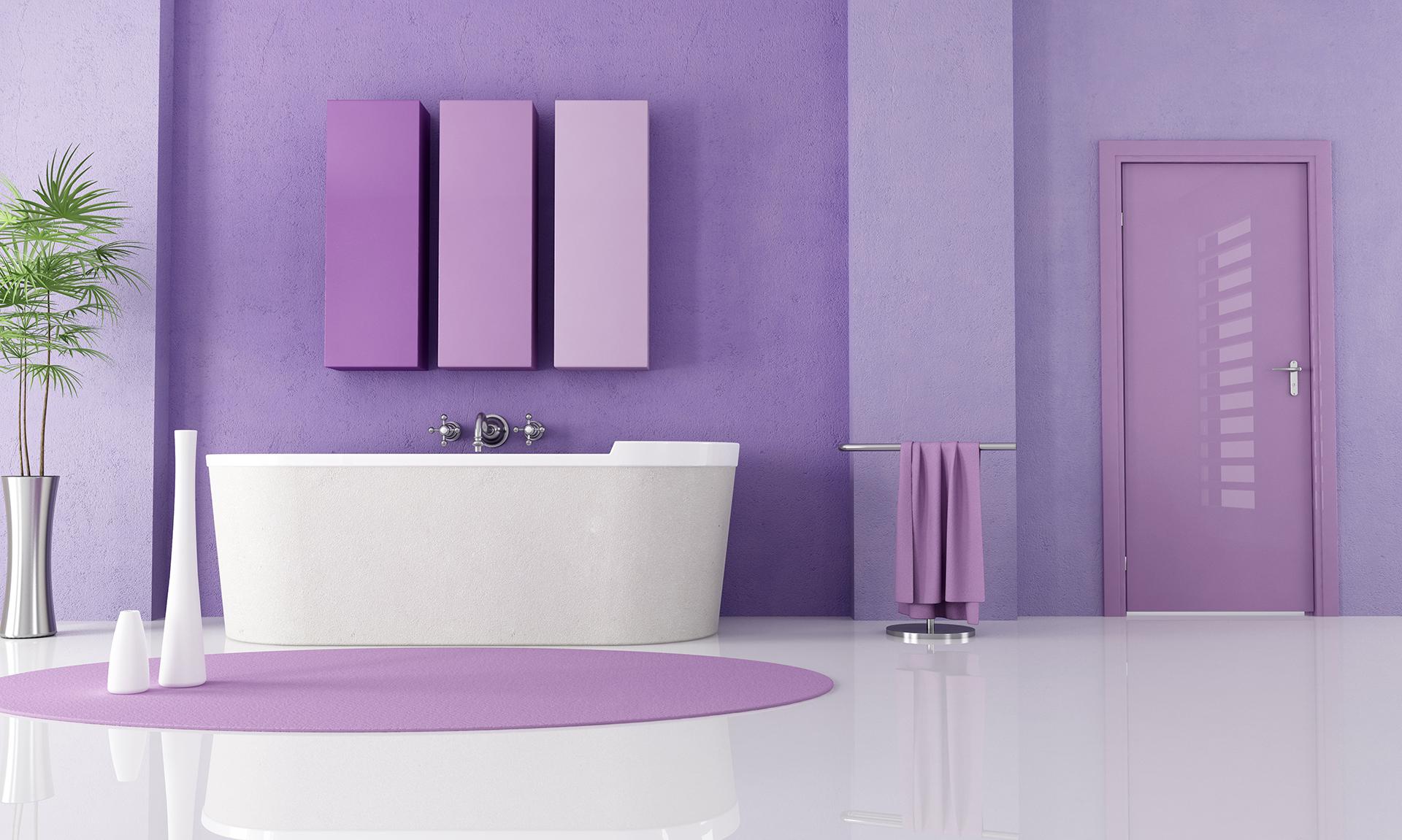 Производители предлагают многообразие цветовой палитры для ванной комнаты