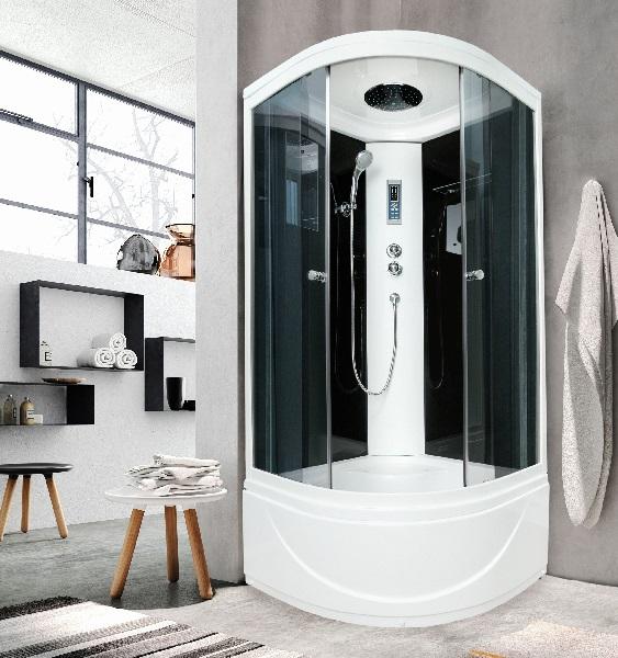 Душевые кабины имеют ряд преимуществ, одним из которых является экономия пространства в ванной