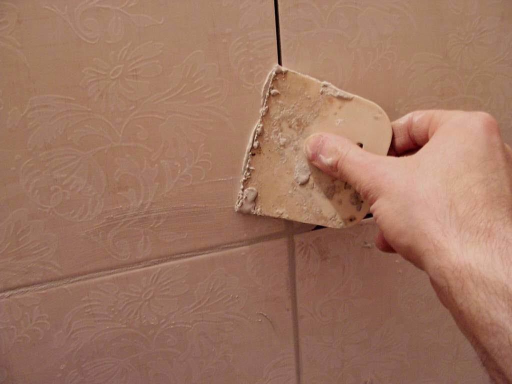 Затирка для швов плитки в ванной своими