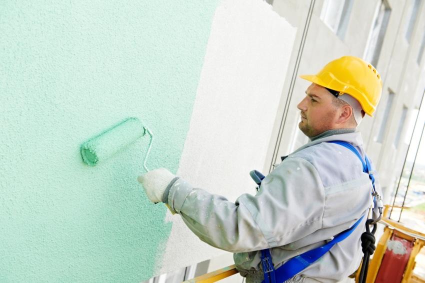 Чтобы рассчитать какой будет расход краски то необходимо определиться с тем какая будет наноситься краска