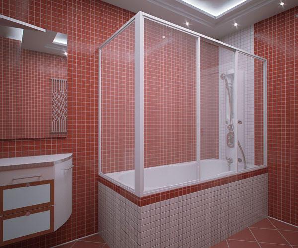 Как сделать пластиковую перегородку в ванной комнате