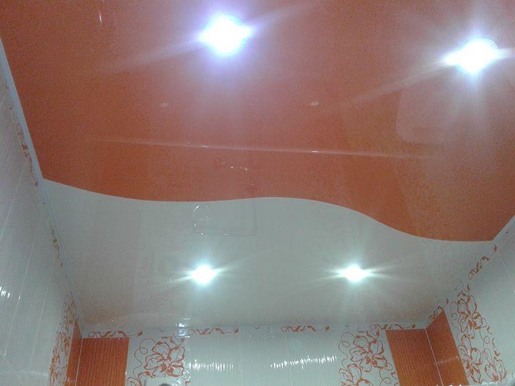 Водно-дисперсионный или латексный материал используется вместо реечных потолков