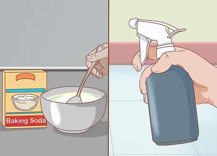Раствор соды и уксуса